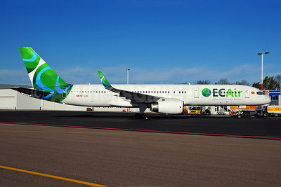 ECAir-Equatorial Congo Airlines (PrivatAir) Boeing 757-236 WL HB-JJD (msn 25807) MST (Ton Jochems). Image: 908263.