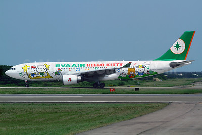 EVA Air Airbus A330-203 B-16311 (msn 693) (Hello Kitty - 4th) TPE (Manuel Negrerie). Image: 908332.