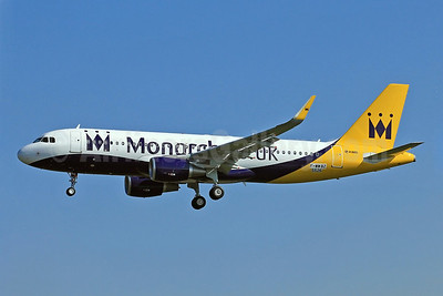 Monarch Airlines (Monarch.co.uk) Airbus A320-214 WL (Sharklets) F-WWBZ (G-ZBAA) (msn 5526) TLS (Eurospot). Image: 911121.