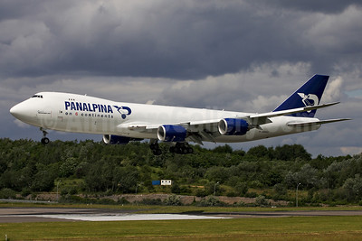 Panalpina (Atlas Air) Boeing 747-87UF N850GT (msn 37570) (Panalpina on 6 Continents) LUX (Rainer Bexten). Image: 908563.