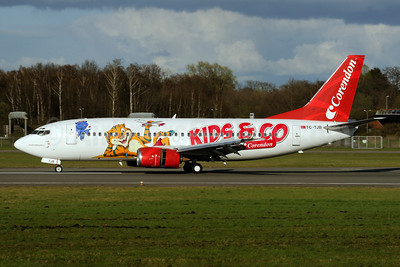 Corendon Airlines Boeing 737-3Q8 TC-TJB (msn 27633) (Kids and Company) HAM (Gerd Beilfuss). Image: 908219.