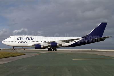 United Charter (United Airlines) Boeing 747-422 N194UA (msn 26892) SF) (Mark Durbin). Image: 908065.