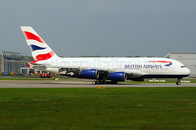 British Airways Airbus A380-841 F-WWSK (G-XLEA) (msn 095) XFW (Gerd Beilfuss). Image: 912074.
