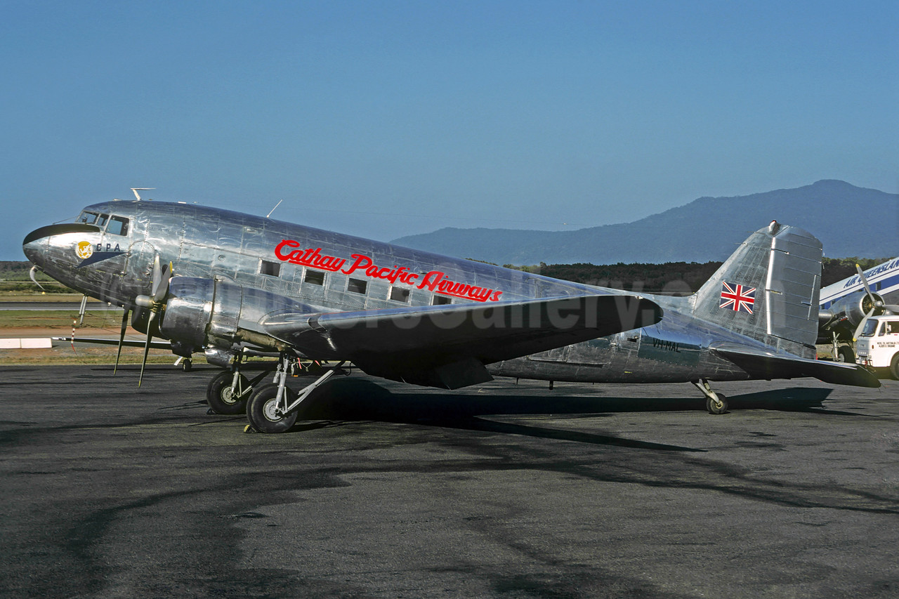 Cathay Pacific Airways-CPA Douglas C-47-DL (DC-3) VH-MAL (msn 4423) CNS (Christian Volpati Collection). Image: 921230.
