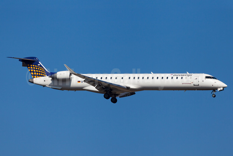 Eurowings (Lufthansa Regional)-Germanwings (2nd)  Bombardier CRJ900 (CL-600-2D14) D-ACNF (msn 15243)