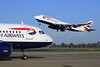 Rush Hour for British Airways at London Heathrow Airport