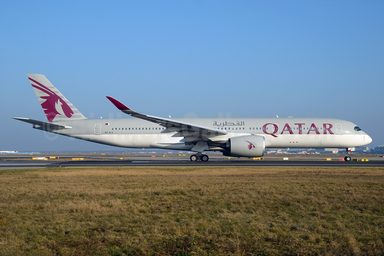 Qatar Airways is the world's first A350 operator