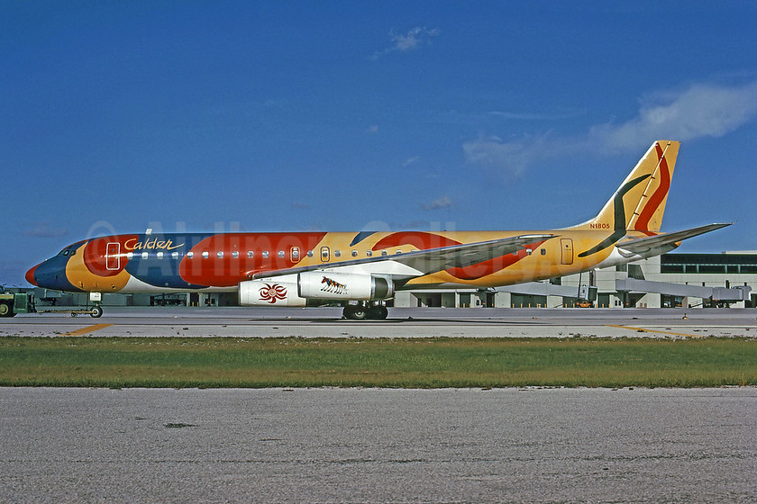 "Braniff's 1973 Alexander Calder ""Flying Colors"""
