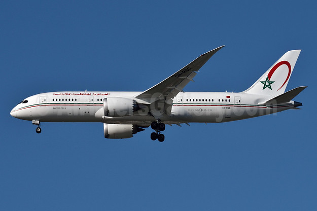 Royal Air Maroc Boeing 787-8 Dreamliner CN-RGC (msn 43818) JFK (Fred Freketic). Image: 927406.