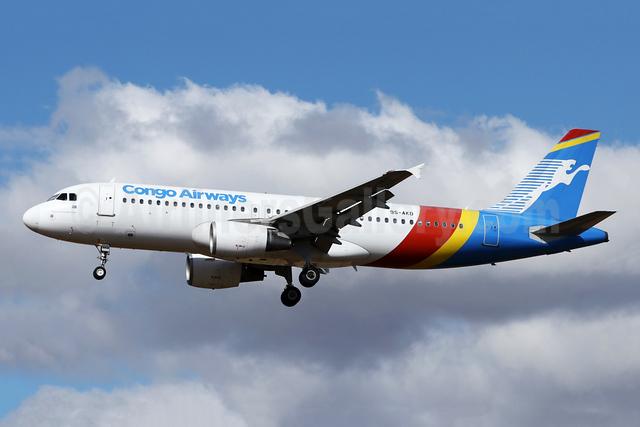 Congo Airways Airbus A320-216 9S-AKD (msn 3412) JNB (Jonathan Druion). Image: 946068.
