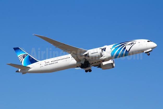 EgyptAir Boeing 787-9 Dreamliner SU-GER (msn 38798) FRA (Marcelo F. De Biasi). Image: 946933.