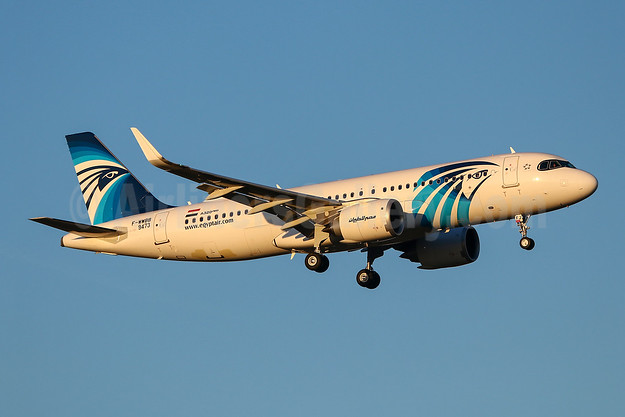 First Airbus A320neo for EgyptAir
