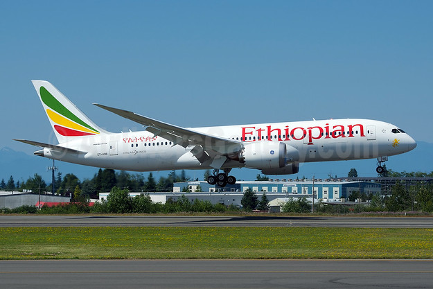 Ethiopian Airlines Boeing 787-8 Dreamliner ET-AOQ (msn 34745) PAE (Bernie Leighton). Image: 922586.
