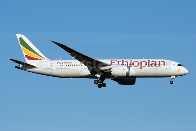 Ethiopian Airlines Boeing 787-8 Dreamliner ET-ARF (msn 34752) JFK (Fred Freketic). Image: 947196.