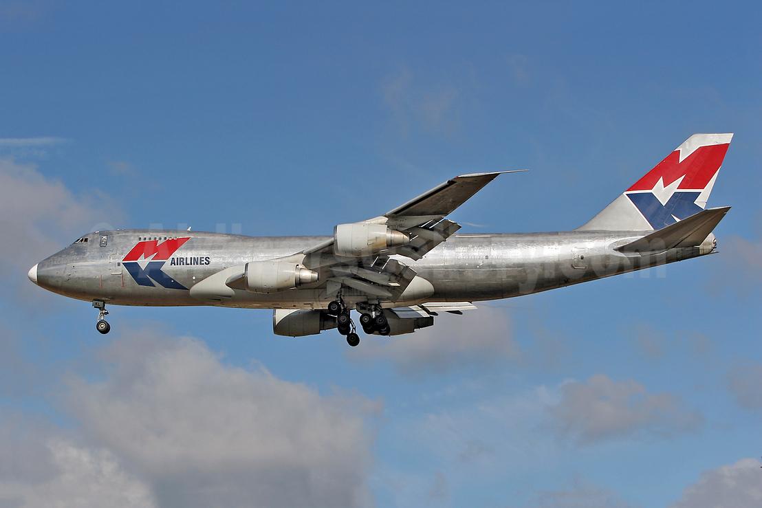MK Airlines Boeing 747-2R7F 9G-MKL (msn 21650) MSE (Keith Burton). Image: 900036.