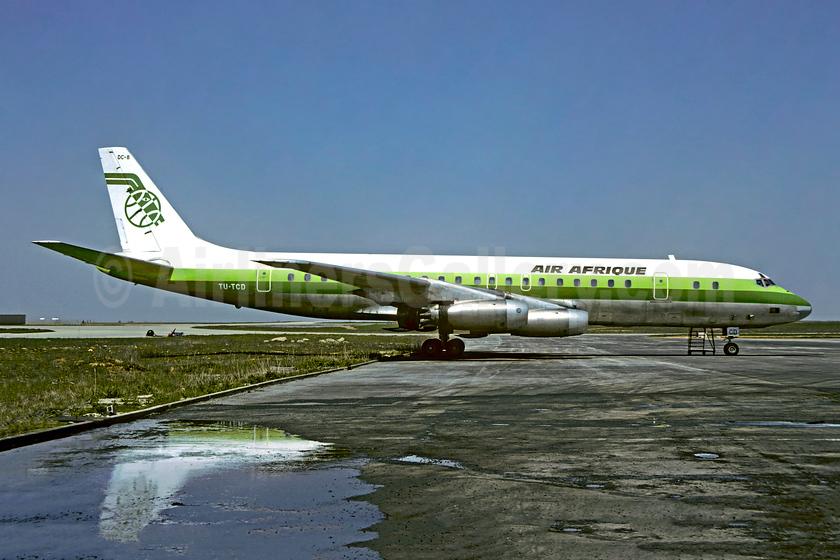 Air Afrique McDonnell Douglas DC-8-33 TU-TCD (msn 45627) CDG (Christian Volpati). Image: 953375.