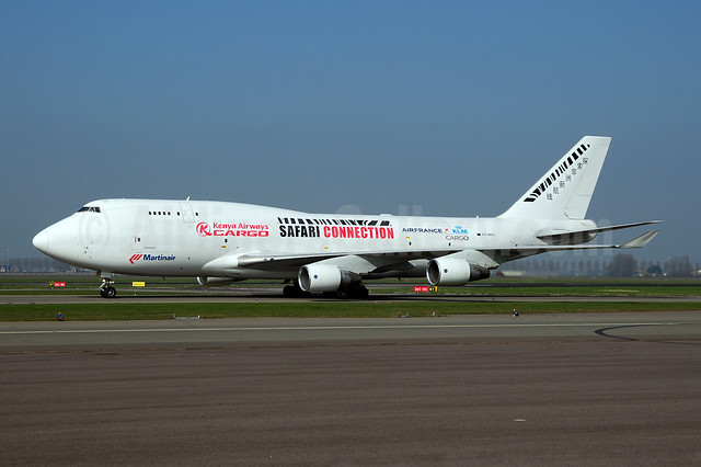 Joint Martinair, Kenya Airways, Air France and KLM titles
