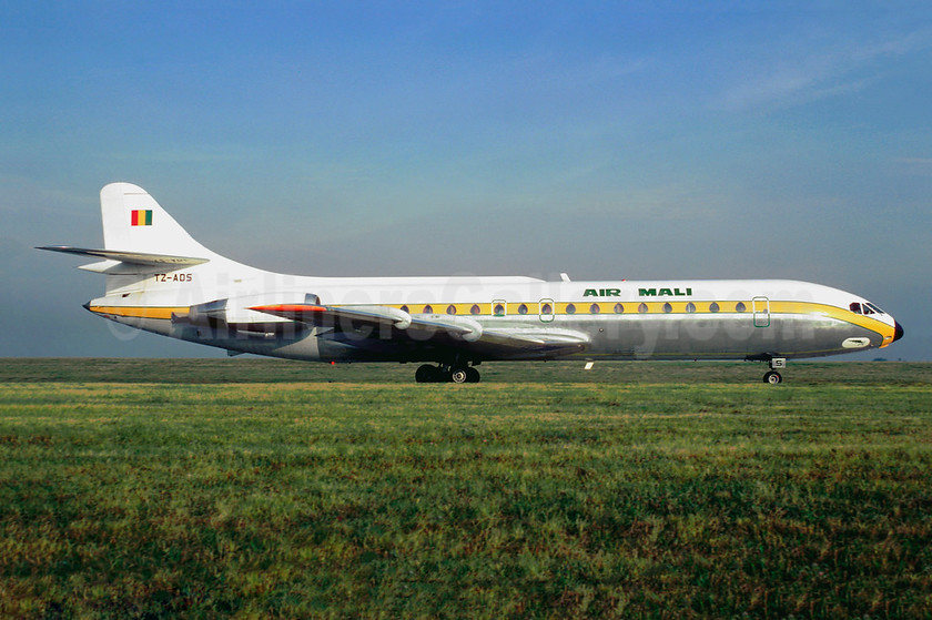 Air Mali (1st) Sud Aviation SE.210 Caravelle 10B3 TZ-ADS (msn 184) ORY (Jacques Guillem). Image: 941498.