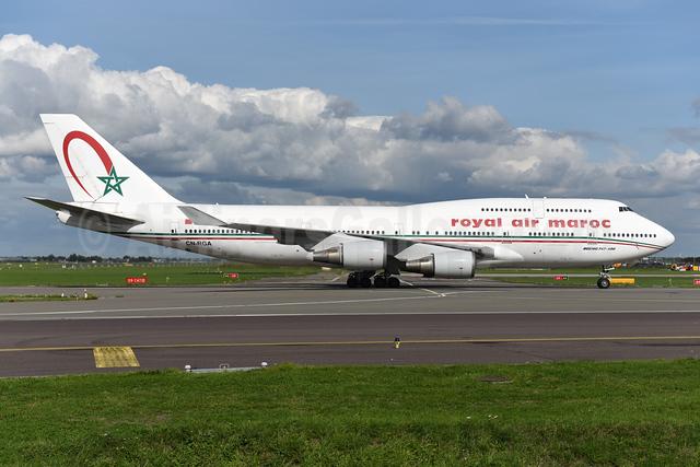 Royal Air Maroc Boeing 747-428 CN-RGA (msn 25629) AMS (Ton Jochems). Image: 943774.