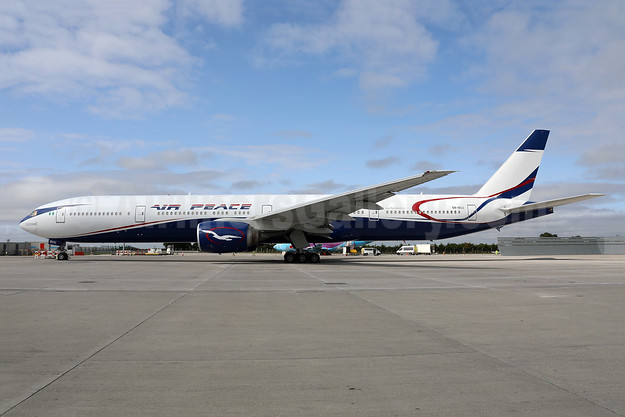 """Ojochide"", Air Peace's first Boeing 777-300"