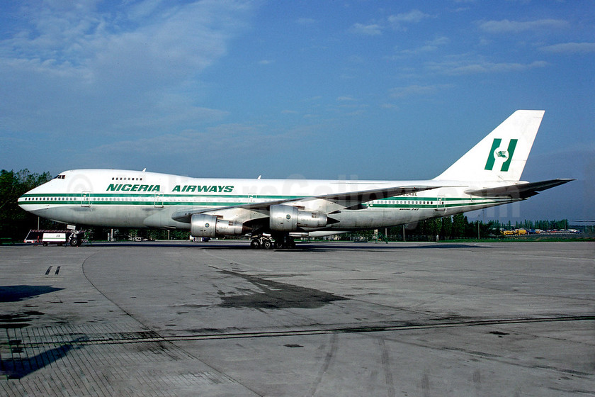 Nigeria Airways Boeing 747-2B4B N204AE (msn 21099) (Christian Volpati Collection). Image: 939835.