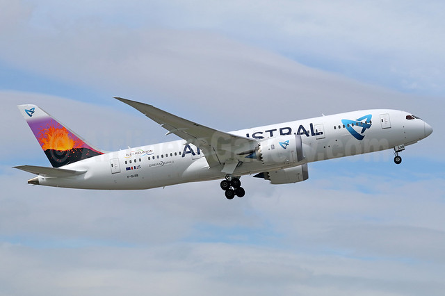 Air Austral Boeing 787-8 Dreamliner F-OLRB (msn 34491) BKK (Michael B. Ing). Image: 936183.