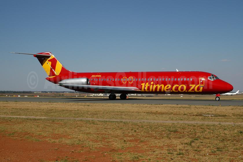 1time Aero (1time.co.za) McDonnell Douglas DC-9-32 ZS-NNN (msn 47516) JNB (Ton Jochems). Image: 953960.
