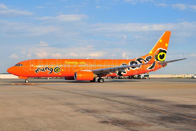 Mango (South African Airways) Boeing 737-8BG WL ZS-SJL (msn 32356) JNB (Ton Jochems). Image: 953540.