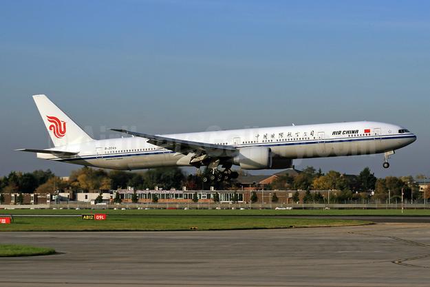 Air China Boeing 777-39L ER B-2045 (msn 41443) LHR (SPA). Image: 930233.