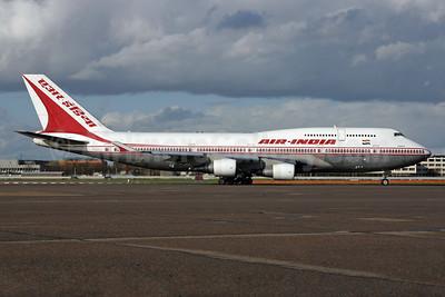 Air India Boeing 747-437 VT-ESM (msn 27078) LHR. Image: 924531.