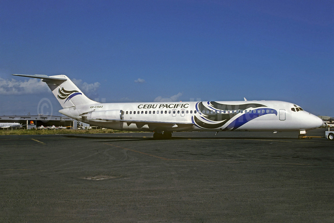 Cebu Pacific Air McDonnell Douglas DC-9-32 RP-C1503 (msn 47789) MNL (Christian Volpati Collection). Image: 934218.