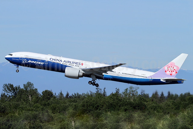China Airlines' new Boeing special livery, replaces B-18210