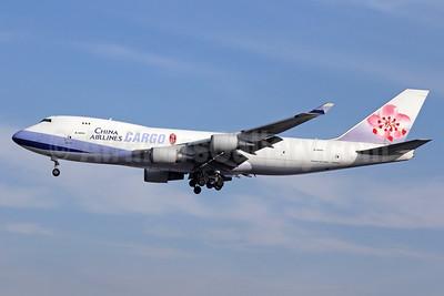 China Airlines Cargo Boeing 747-409F B-18701 (msn 30759) LAX (Michael B. Ing). Image: 929574.