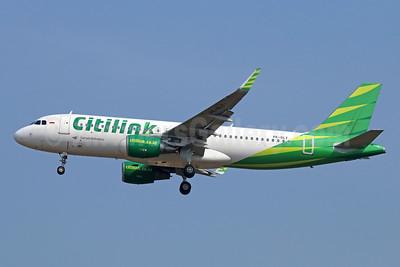 Citilink-Garuda Indonesia Airways Airbus A320-214 WL PK-GLY (msn 5830) CGK (Michael B. Ing). Image: 929063.