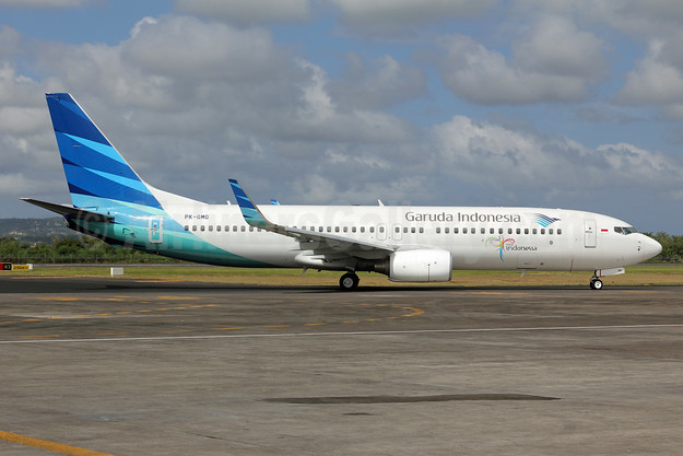 Garuda Indonesia Airways Boeing 737-8U3 WL PK-GMG (msn 30141) DPS (Michael B. Ing). Image: 924195.