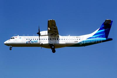 Garuda Indonesia Explore ATR 72-212A (ATR 72-600) F-WWEZ (PK-GAK) (msn 1249) TLS (Manuel Negrerie). Image: 928513.