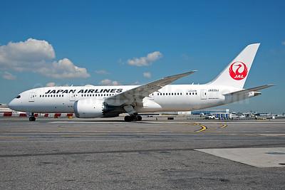 JAL-Japan Airlines Boeing 787-8 Dreamliner JA839J (msn 34853) JFK (Fred Freketic). Image: 929095.