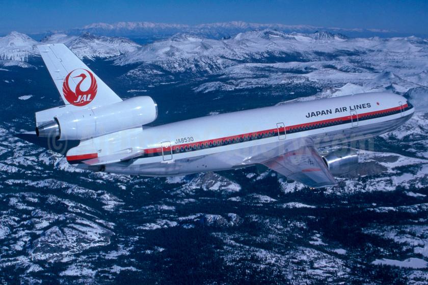 First DC-10, delivered on April 9, 1976
