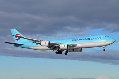 Korean Air Cargo Boeing 747-8B5F HL7623 (msn 37655) ANC (Michael B. Ing). Image: 925107.