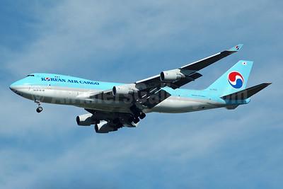 Korean Air Cargo Boeing 747-4B5F ER HL7602 (msn 34301) JFK (Bruce Drum). Image: 100467.