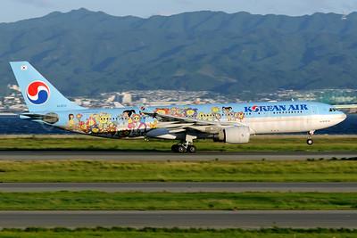 Korean Air's 5th Children's Art logo jet