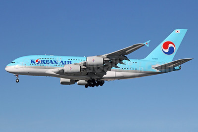 Korean Air Airbus A380-861 HL7619 (msn 096) LAX (Michael B. Ing). Image: 912451.