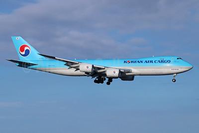 Korean Air Cargo Boeing 747-8B5F HL7624 (msn 37656) ANC (Michael B. Ing). Image: 926633.