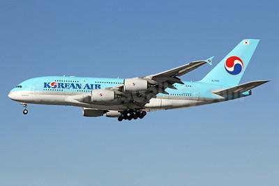 Korean Air Airbus A380-861 HL7615 (msn 075) LAX (Michael B. Ing). Image: 922671.