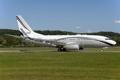 Mid East Jet Boeing 737-74Q WL (BBJ) N737CC (msn 29135) ZRH (Rolf Wallner). Image: 929149.