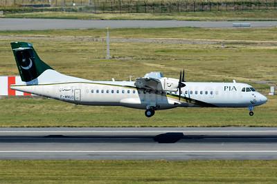 PIA-Pakistan International Airlines ATR 72-212A (ATR 72-500) F-WNUD (AP-BKV) (msn 1000) TLS (Paul Bannwarth). Image: 928563.
