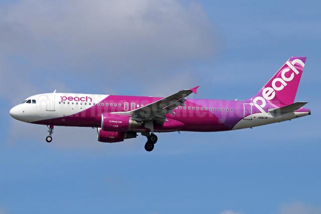 Peach Aviation (Japan) Airbus A320-214 JA817P (msn 6824) NRT (Michael B. Ing). Image: 934246.