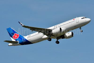 Qingdao Airlines Airbus A320-214 WL F-WWBF (B-1693) (msn 6608) TLS (Paul Bannwarth). Image: 928573.