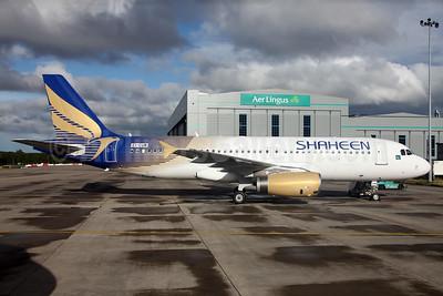 Shaheen Air International Airbus A320-232 EI-CUM  (AP-BLH) (msn 542) DUB (Greenwing). Image: 928648.