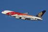 Singapore Airlines Airbus A380-841 9V-SKI (msn 034) (50th Anniversary - SG50) LHR (SPA). Image: 931019.